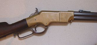 Henry rifle - Image: Henry Rifle Receiver