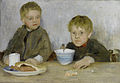 Henry Scott Tuke Georgie and Richard 1889.jpg