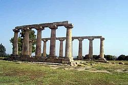 Hera Temple at Metaponto (Italy).jpg