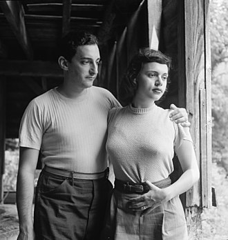 Herb Abramson - Abramson and his wife, Miriam Bienstock, c. 1947