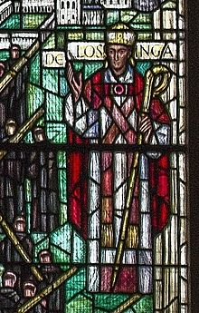 Herbert de Losinga, Bauchon Window, Norwich Cathedral.jpg