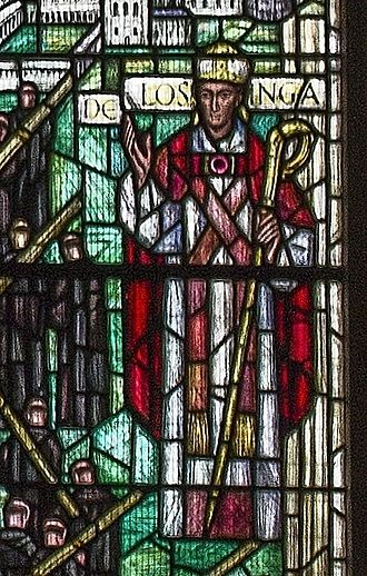 Herbert de Losinga - Bauchon Window of Norwich Cathedral