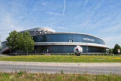 Adidas factory outlet in Herzogenaurach