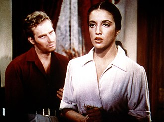 Katy Jurado - Jurado with Charlton Heston in Arrowhead (1953)