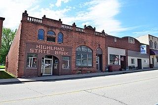 Highland, Wisconsin Village in Wisconsin, United States