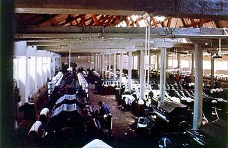 Economic history of Colombia - Textile factory near San José de Suaita, late 1970s