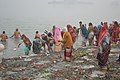 Hindu Devotees Taking Holy Dip In Ganga - Makar Sankranti Observance - Kolkata 2018-01-14 6642.JPG