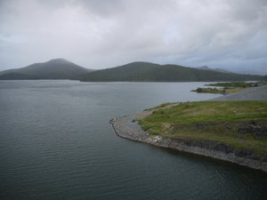 Advancetown, Queensland - Hinze Dam after the 3rd Stage completion