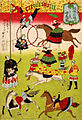 Hiroshige III, Big French circus on the grounds of Shokonsha shrine, 1871.jpg