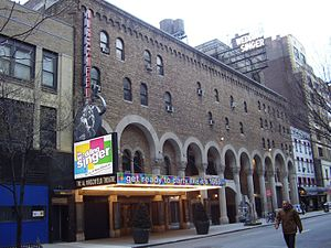 Al Hirschfeld Theatre - The Al Hirschfeld Theatre, showing the musical The Wedding Singer, 2006.