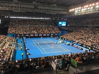 Melbourne Arena - Arena during the 2016 Australian Open
