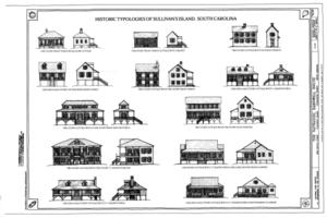 Historic Typologies of Sullivan's Island, South Carolina - Nathaniel Barnwell House, 1023 Middle Street, Sullivans Island, Charleston County, SC HABS SC-875 (sheet 12 of 12).png