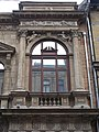Historical Archives of State Security Services, window, Eotvos Street, 2016 Budapest.jpg