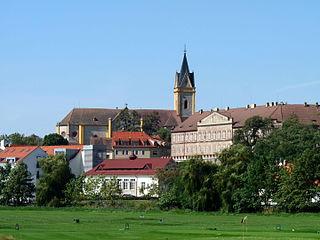 Hluboká nad Vltavou Town in South Bohemian, Czech Republic
