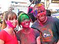 Holi celebrations in Pokhara, Nepal March 2012.jpg