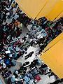 Holiday rush at SM City Pampanga in the City of San Fernando, Pampanga, Philippines.jpg