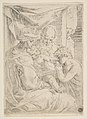 Holy Family with Saint John the Baptist kissing the infant Christ's hand MET DP815114.jpg