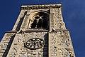 Holy Trinity Church near Tooting Bec (clock tower close-up).jpg