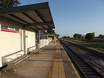 Home Hill Railway Station, Queensland, Jan 2013.JPG