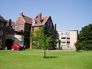English: Homerton College and the Education Fa...