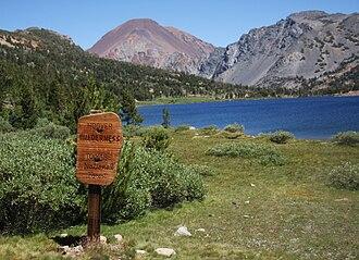 Hoover Wilderness - Summit Lake at the Sierra Crest