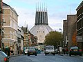 Hope Street and the Roman Catholic Metropolitan Cathedral of Christ the King, Liverpool - geograph.org.uk - 49820.jpg