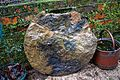 Horsham Stone slab at the north of Nuthurst, West Sussex, England 02.jpg