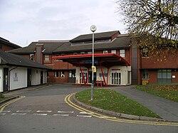Hospital of St Cross -Rugby -A&E-29Oct09.JPG