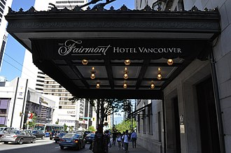 "Hotel Vancouver - The hotel was renamed the ""Fairmont Hotel Vancouver"" in 2001."