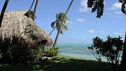 Costa tahitiana.