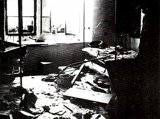 1929 Hebron massacre - A ransacked house in the Jewish quarter of Hebron