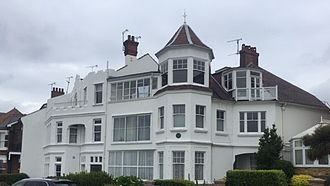 Frank Matcham - Matcham's final residence, 28 Westcliff Parade, Southend-on-sea, Essex