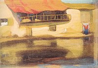 Houses on water, painting by Michalis Oikonomou, 1926-27.jpg
