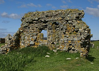South Uist - The remains of the late 13th-century parish church
