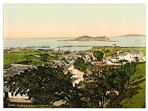 Howth - Nineteenth century postcard of Howth