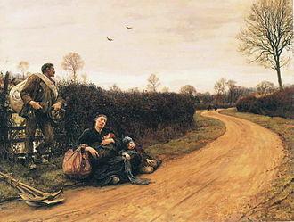 Hubert von Herkomer - Hard Times (1885).