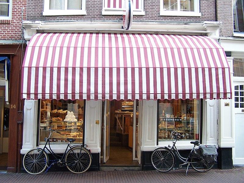 Patisserie et salon de thé Pompadour dans les 9 ruelles d'Amsterdam - Photo de Spider