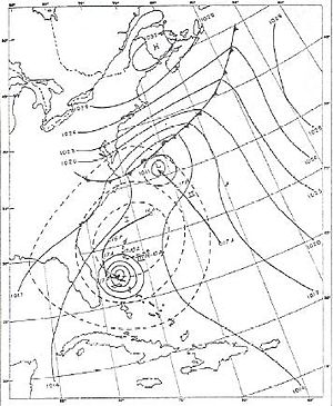 1951 Atlantic hurricane season - Image: Hurricane Able (1951)