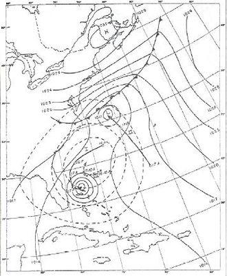 1951 Atlantic hurricane season - Image: Hurricane Able (1951)