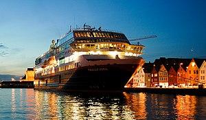 Hurtigruten - Bergen, Norway