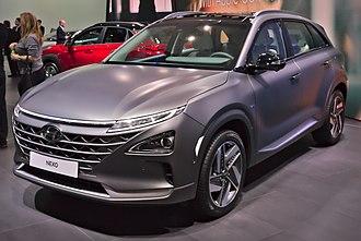 Hyundai Nexo - Image: Hyundai Nexo Genf 2018