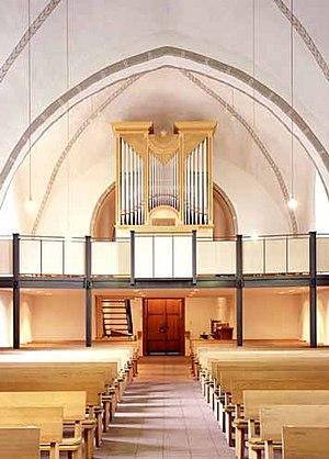 Spenge - Image: IA St.Martinskirche Spenge Wegscheider Orgel 2005