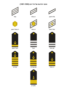 IDF (Navy) insignia of ranks 1950-1951.png