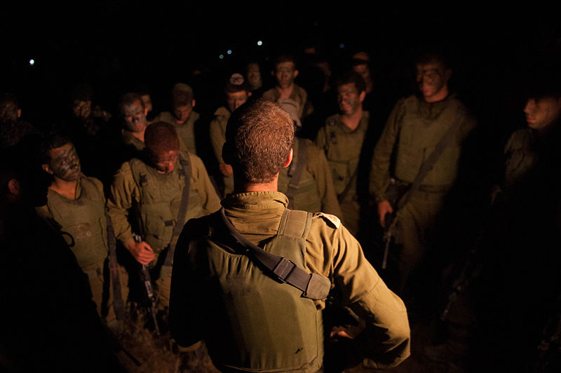 IDF forces prepare themselves before entering Gaza (14495164259).jpg