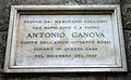IMG 6761 - Milano - Lapide a Antonio Canova - Foto Giovanni Dall'Orto 8-Mar-2007.jpg