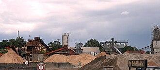 Castlebridge - Brick production in Castlebridge