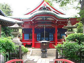 Hinduism in Japan - Benzaiten shrine, Inokashira Park