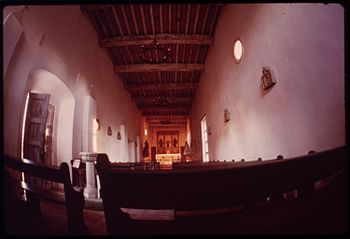 INSIDE THE MISSION SAN JUAN CAPISTRANO - NARA ...