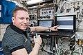 ISS-57 Sergey Prokopyev works in the Columbus module (1).jpg