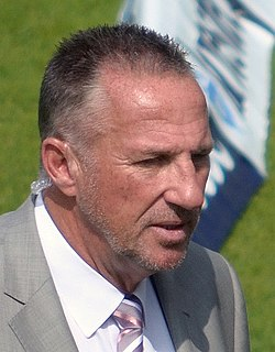 Ian Botham former England Test cricketer and Test team captain, and current cricket commentator